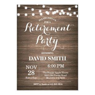 Retirement Party Announcement Wpart Co