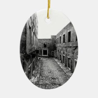 Rustic Rome Christmas Ornament