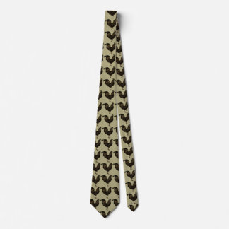 Rustic Rooster Chinese New Year 2017 Tie 2