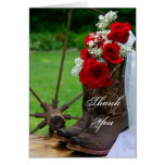 Rustic Roses Country Bridesmaid Thank You