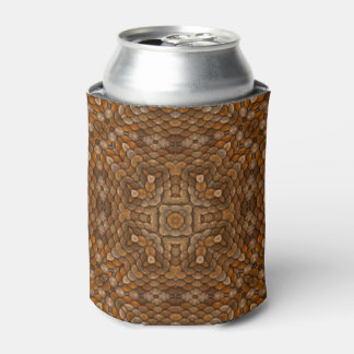 Rustic Scales Colorful Kaleidoscope     Can Cooler