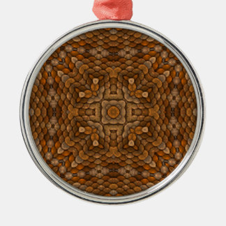 Rustic Scales Colorful Vintage Ornaments