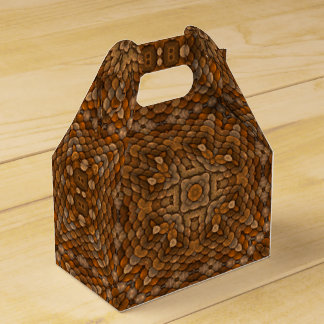 Rustic Scales Kaleidoscope  Gable Favor Box