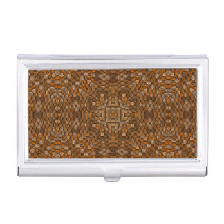 Rustic Scales Vintage Business Card Case