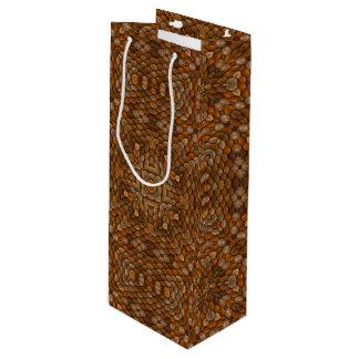 Rustic Scales Vintage Kaleidoscope   Wine Bags
