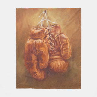 Rustic Sports | Boxing Glove Fleece Blanket