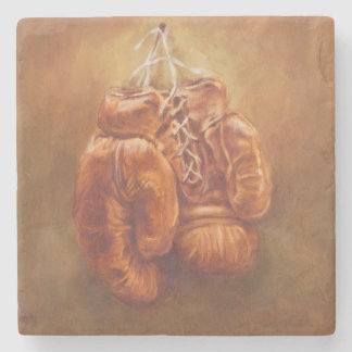 Rustic Sports | Boxing Glove Stone Coaster