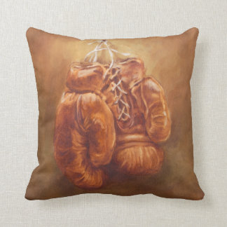 Rustic Sports | Boxing Glove Throw Pillow