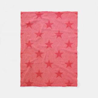 Rustic Star Fleece Blanket