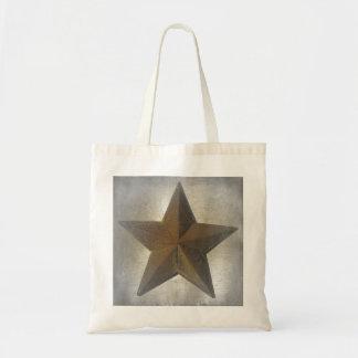 Rustic Star Tote Bag