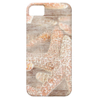 Rustic Starfish Brown iPhone 5 Cases
