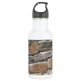 Rustic Stone Wall 532 Ml Water Bottle