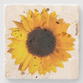 Rustic Sunflower Stone Coaster Stone Coaster