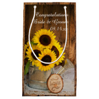 Sunflowers Wedding Gift Bag