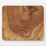 Rustic Teak Wood Wooden Texture Custom Mousepad