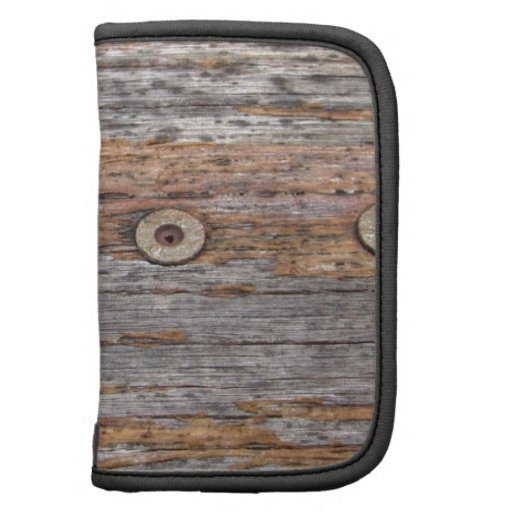 Rustic Timber and Nails Folio Planner