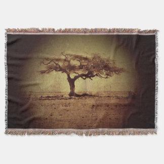 Rustic Tree Throw Blanket