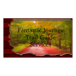 Rustic Tree & Trail Guide Pack Of Standard Business Cards