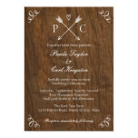 Rustic Tree Wedding Invitation
