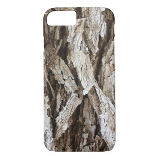 Rustic Tree wood bark Camo iPhone 7 case