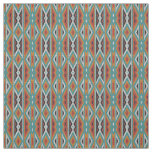 Rustic Tribe Mosaic Native American Indian Pattern Fabric