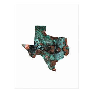 Rustic Turquoise Texas Postcard
