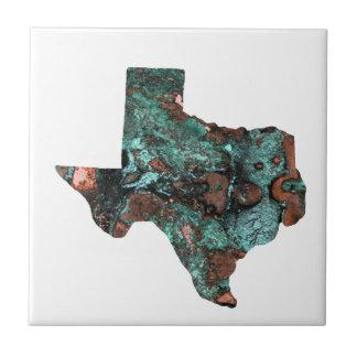 Rustic Turquoise Texas Tile