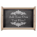 Rustic Vintage Chalkboard Custom Personalised