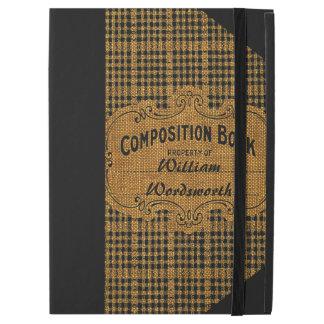 Rustic Vintage Composition Book