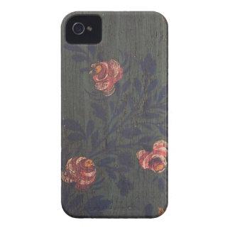 Rustic vintage flowers iPhone 4 cover