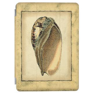 Rustic Vintage Seashell iPad Air Cover