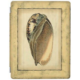 Rustic Vintage Seashell iPad Cover