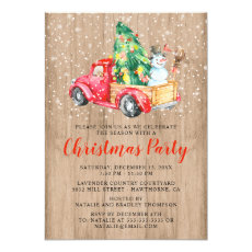 Rustic Vintage Truck | Christmas Holiday Party