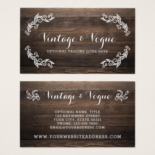Rustic vintage wood elegant country farm boutique business card rustic vintage wood elegant country farm boutique business card reheart Image collections