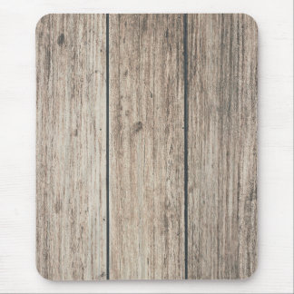 Rustic Weathered Wood Farmhouse Barn Country Mouse Mat