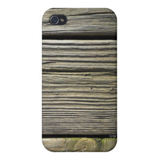 Rustic Weathered Wood Grain Board Photograph iPhone 4 Covers