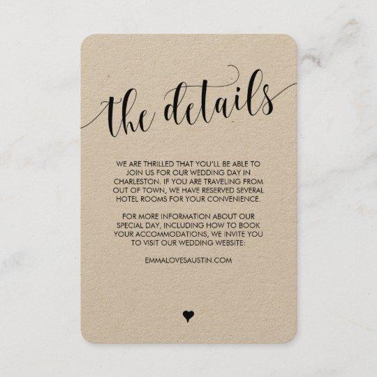 unique wedding invitation details card and 14 wedding invitation details card wording