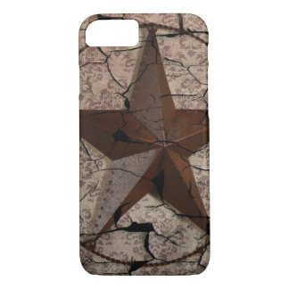 Rustic Western Country Primitive Texas Star iPhone 8/7 Case