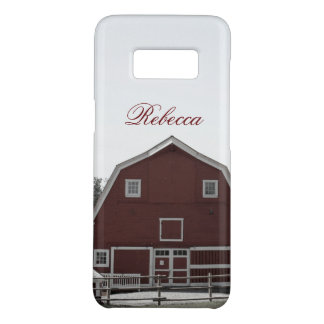 Rustic western country rural farmhouse red barn Case-Mate samsung galaxy s8 case