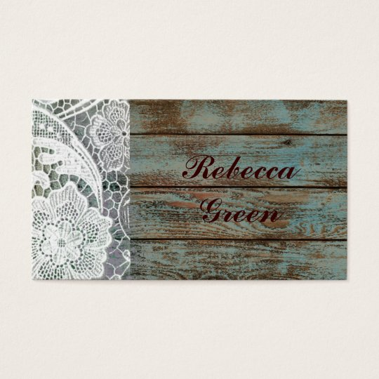 rustic white lace teal barn wood wedding business