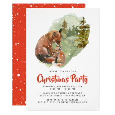 Rustic Winter Christmas Holiday Party