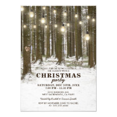 Rustic Winter Corporate Christmas Holiday Party