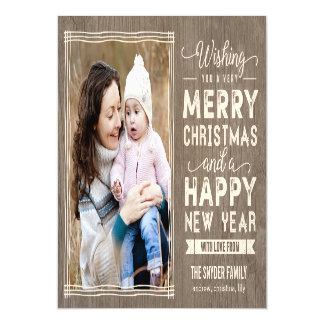 Rustic Wishes Holiday Magnet