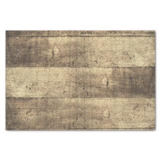 Rustic Wood Country Barn Boards Farm Wedding Tissue Paper
