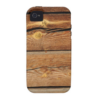 Rustic Wood Grain Boards Design Country Gifts iPhone 4/4S Covers