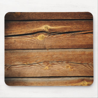 Rustic Wood Grain Boards Design Country Gifts Mouse Mat