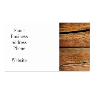 Rustic Wood Grain Boards Design Country Gifts Pack Of Standard Business Cards