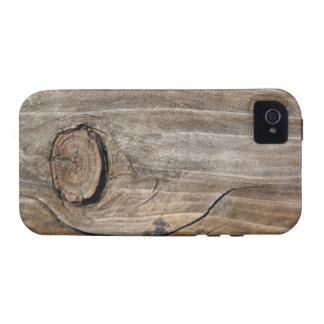 Rustic Wood Grain - Knotty iPhone 4/4S Case
