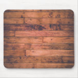 Rustic Wood Grain Mouse Pad