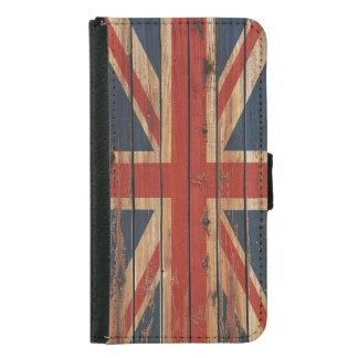 Rustic Wood United Kingdom Flag